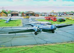 Municipal Airport Planes Jigsaw Puzzle
