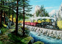 Rounding the Horn Lakes / Rivers / Streams Jigsaw Puzzle