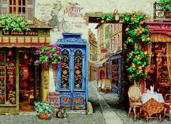 Rue Lafayette France Jigsaw Puzzle