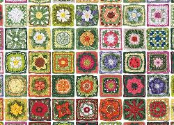 Granny Squares Mother's Day Jigsaw Puzzle