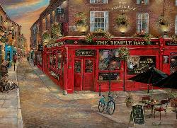 The Temple Bar Ireland Jigsaw Puzzle