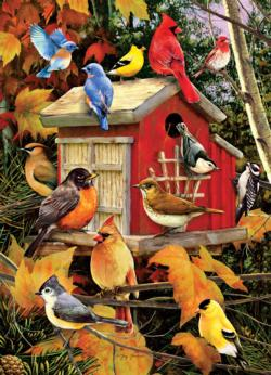 Fall Birds Fall Jigsaw Puzzle