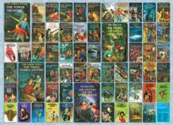 Hardy Boys Books / Library Jigsaw Puzzle