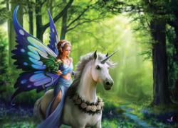 Realm of Enchantment Unicorns Jigsaw Puzzle