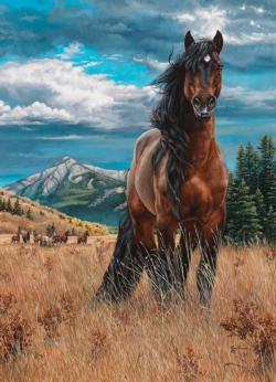 Freedom Horses Jigsaw Puzzle