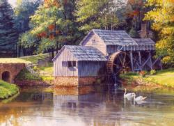 Mabry Mill Lakes / Rivers / Streams Jigsaw Puzzle