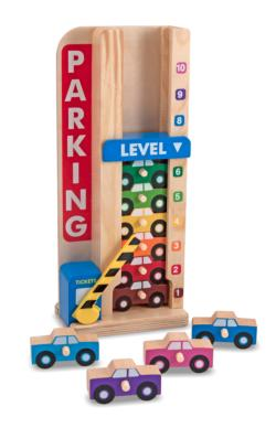 Stack & Count Parking Garage Educational Toy