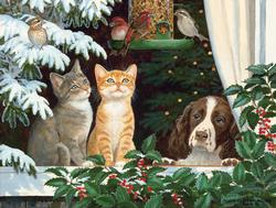 Family and Friends Winter Jigsaw Puzzle