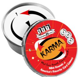 Karma Mini Round Travel Games Game