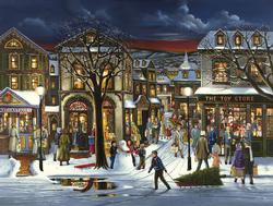 'Tis the Season Snow Jigsaw Puzzle