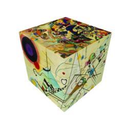 V-CUBE 3 FLAT - KADINSKY Contemporary & Modern Art Brain Teaser