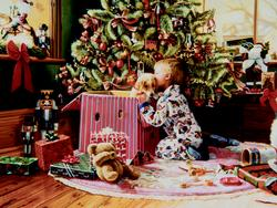 Christmas Morning Christmas Jigsaw Puzzle