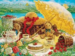 Teddy Bear Picnic Picnic Jigsaw Puzzle