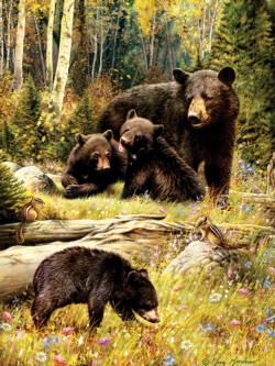 Bears Baby Animals Jigsaw Puzzle