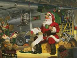 Santa's Checklist Christmas Jigsaw Puzzle