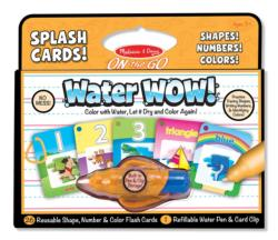 Numbers, Colors, Shapes (Splash Cards) Educational