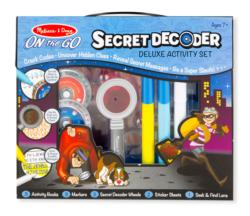 Secret Decoder Deluxe Activity Set Activity Book and Stickers