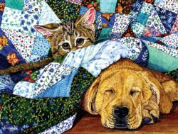 Quilted Comfort Dogs Jigsaw Puzzle