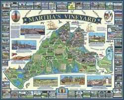 Martha's Vineyard, MA United States Jigsaw Puzzle