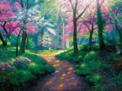 Spring Chapel - Scratch and Dent Churches Jigsaw Puzzle