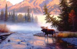 Into the Mist Wildlife Jigsaw Puzzle