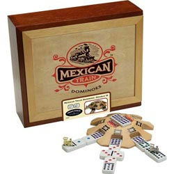 Mexican Train Dominoes (3)