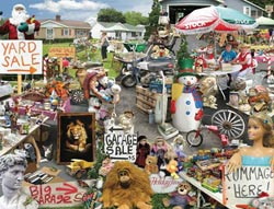 Yard Sale Everyday Objects Jigsaw Puzzle