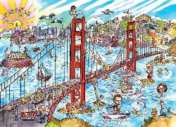 San Francisco Bridges Jigsaw Puzzle
