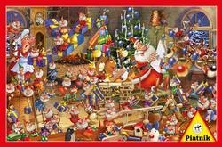 Christmas Chaos Christmas Jigsaw Puzzle