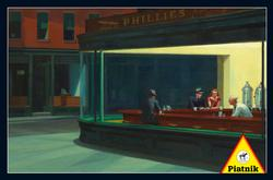 Nighthawks People Jigsaw Puzzle