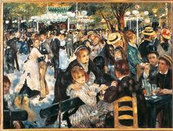Dance at Le Moulin de la Galette People Jigsaw Puzzle