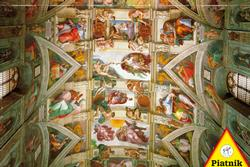 The Ceiling of the Sistine Chapel Religious Jigsaw Puzzle