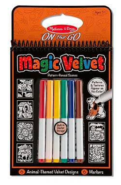 Magic Velvet - Animal Other Animals Children's Coloring Books - Pads - or Puzzles