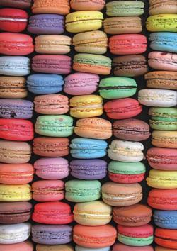 Macaroons - Scratch and Dent Sweets Jigsaw Puzzle