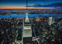 New York at Night Cities Jigsaw Puzzle
