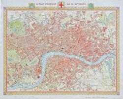London Map 1831 Nostalgic / Retro Jigsaw Puzzle