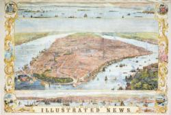 New York Map 1853 United States Jigsaw Puzzle