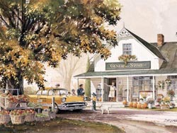 General Store Thanksgiving Large Piece