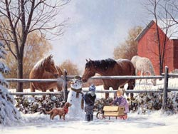 Frosty's Friends Winter Jigsaw Puzzle