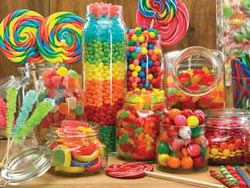 Enough Candy for Everyone - Scratch and Dent Food and Drink Children's Puzzles