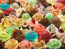 More Ice Cream Sweets Jigsaw Puzzle