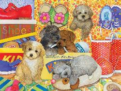 Hush Puppies Spring Family Puzzle
