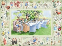 Alice's Adventures in Wonderland Movies / Books / TV Family Puzzle