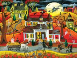 Halloween Fright Night Halloween Jigsaw Puzzle