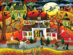 Halloween Fright Night Halloween Jigsaw Puzzle
