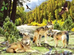 Wolf Creek Wolves Jigsaw Puzzle