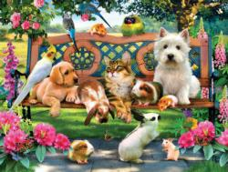 Pets in the Park Dogs Large Piece