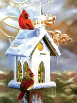 The Church Birds Jigsaw Puzzle