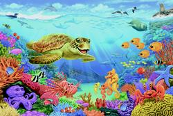 Ocean Reef Under The Sea Children's Puzzles