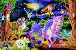 Mystical World Fantasy Children's Puzzles